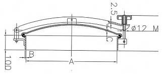 D22e Manhole Cover side dimensions